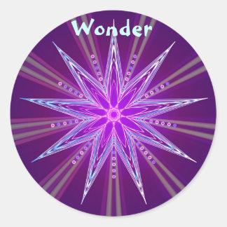 Wonder (Virtue sticker) Classic Round Sticker