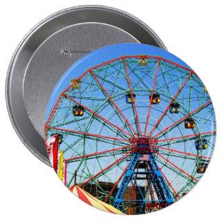 Wonder Wheel - Coney Island, NYC button