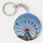 Wonder Wheel - Coney Island, NYC keychain