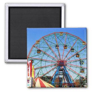 Wonder Wheel - Coney Island, NYC magnet
