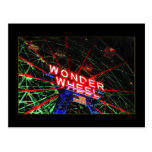 Wonder Wheel Neon (Coney Island, NY) postcard