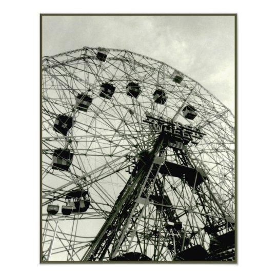 'Wonder Wheel' Photographic Print