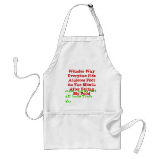 Wonder Why Everyone Has Athletes Foot on The Mo... Adult Apron