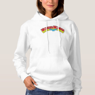 Wonder Woman 1987 Comic Book Logo Hoodie