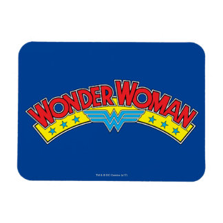 Wonder Woman 1987 Comic Book Logo Magnet