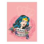 Wonder Woman Amazon Princess Postcard