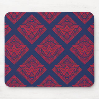 Wonder Woman Amazonian Symbol Mouse Pad