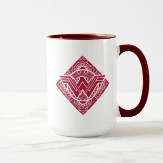Wonder Woman Amazonian Symbol Mug