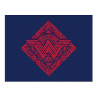 Wonder Woman Amazonian Symbol Postcard
