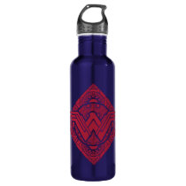 Wonder Woman Amazonian Symbol Water Bottle