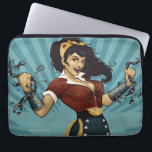"Wonder Woman Amazonians Unite Vintage Poster Laptop Sleeve<br><div class=""desc"">The Wonder Woman DC Comics Bombshell in her 1940&#39;s inspiried outfit,  ripping apart chains,  rallying &quot;Amazonians Unite!&quot;.</div>"