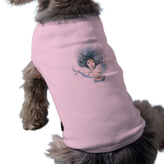 Wonder Woman and Flowers Pet Clothing