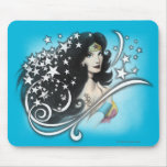 Wonder Woman and Stars Mouse Pad