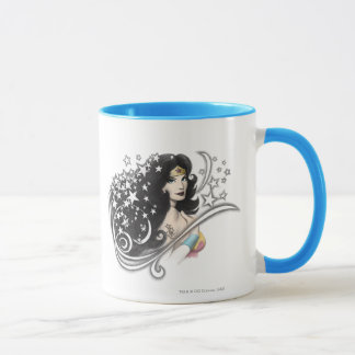 Wonder Woman and Stars Mug