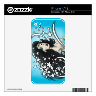 Wonder Woman and Stars Decals For The iPhone 4