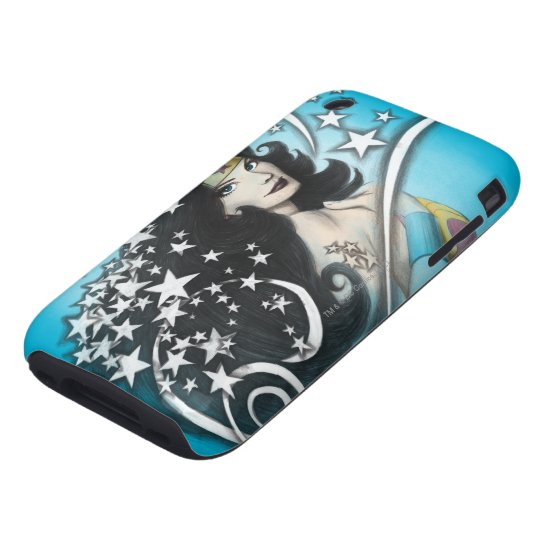 Wonder Woman and Stars Tough iPhone 3 Cover