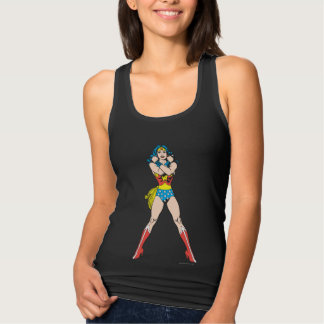 Wonder Woman Arms Crossed Tank Top