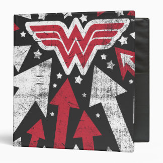 Wonder Woman Arrows 3 Ring Binder