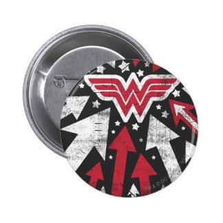 Wonder Woman Arrows Pinback Button