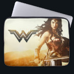 "Wonder Woman At Sunset Laptop Sleeve<br><div class=""desc"">Check out this iconic Wonder Woman movie poster art of Wonder Woman standing on a mountain side at sunset.</div>"