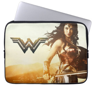 Wonder Woman At Sunset Laptop Sleeve