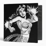 Wonder Woman B&W Lasso 2 3 Ring Binder