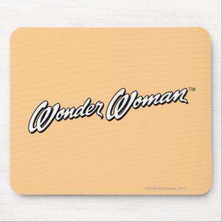 Wonder Woman  B&W Logo 1 Mouse Pad