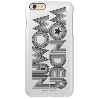Wonder Woman B&W Logo 3 Incipio Feather Shine iPhone 6 Plus Case