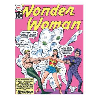 Wonder Woman Battle Prize Post Card