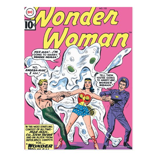 Wonder Woman Battle Prize Postcard