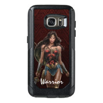 Wonder Woman Battle-Ready Comic Art OtterBox Samsung Galaxy S7 Case