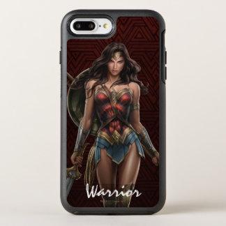 Wonder Woman Battle-Ready Comic Art OtterBox Symmetry iPhone 7 Plus Case