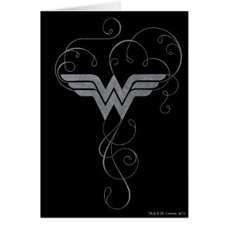 Wonder Woman - Beauty Bliss Greeting Card