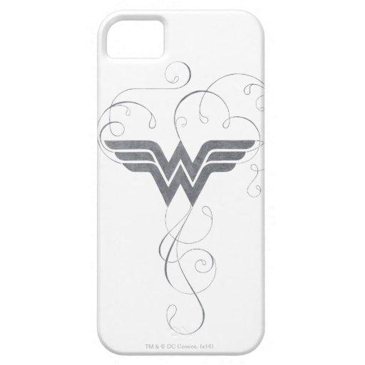 Wonder Woman | Beauty Bliss Logo iPhone SE/5/5s Case