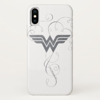 Wonder Woman | Beauty Bliss Logo iPhone X Case