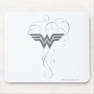 Wonder Woman | Beauty Bliss Logo Mouse Pad