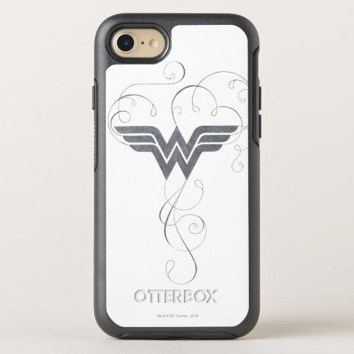 Wonder Woman | Beauty Bliss Logo OtterBox Symmetry iPhone SE/8/7 Case