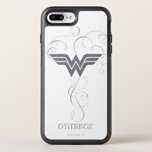 Wonder Woman | Beauty Bliss Logo OtterBox Symmetry iPhone 8 Plus/7 Plus Case