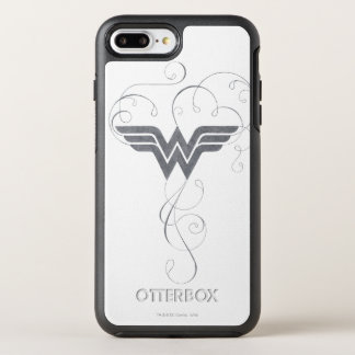 Wonder Woman | Beauty Bliss Logo OtterBox Symmetry iPhone 8 Plus/7 Plus Case