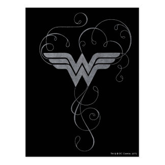 Wonder Woman | Beauty Bliss Logo Postcard