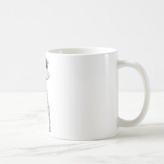 Wonder Woman Black & White Pose Coffee Mug