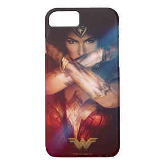 Wonder Woman Blocking With Bracelets iPhone 7 Case