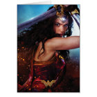 Wonder Woman Blocking With Sword Card