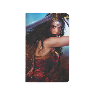 Wonder Woman Blocking With Sword Journal