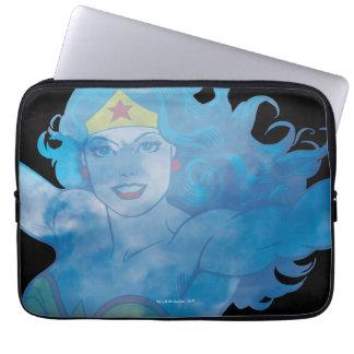 Wonder Woman Blue Sky Silhouette Computer Sleeves