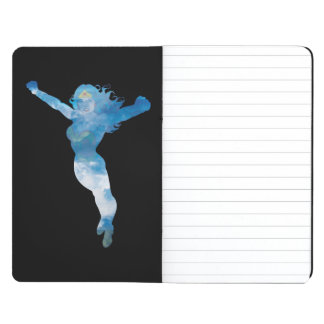 Wonder Woman Blue Sky Silhouette Journal