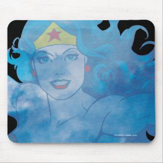 Wonder Woman Blue Sky Silhouette Mouse Pad