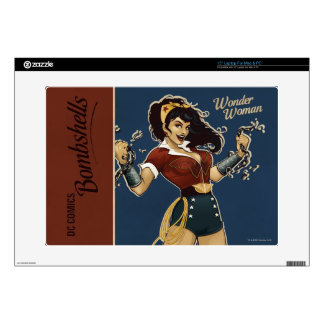"Wonder Woman Bombshell 15"" Laptop Decals"