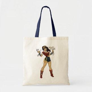 Wonder Woman Bombshell Canvas Bags