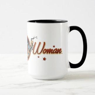 Wonder Woman Bombshell Name Graphic Mug